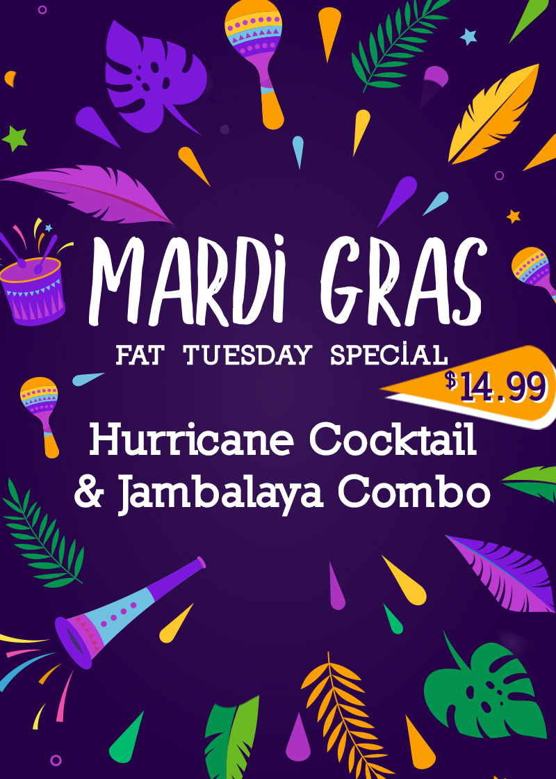 Fat Tuesday Special