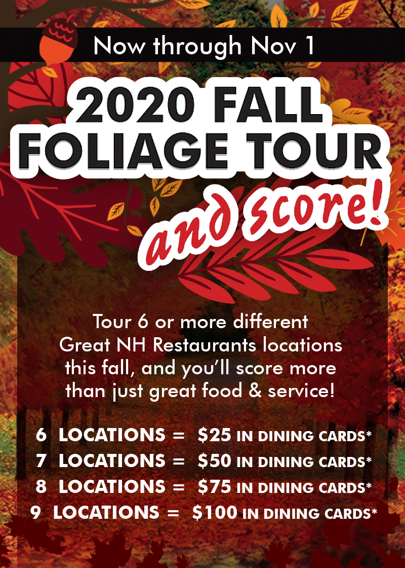 Fall Foliage Tour & Score